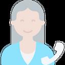 Secretary Businesswoman Assistant Icon
