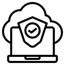 Hosting Web Network Icon
