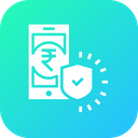 Secure Mobile Transaction Icon