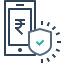 Mobile Secure Transaction Icon