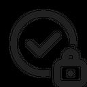 Checkmark Lock Lock Security Check Icon