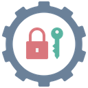 Security Setting Password Management Icon