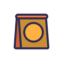 Seed Packaging Cultivation Icon