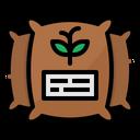 Seed Rice Fertilizer Icon