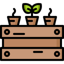 Seedling Plant Nature Icon