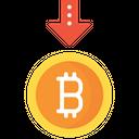 Sell Bitcoin Icon