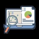 Sell Statics Data Icon