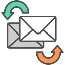 Send Receive Email Icon