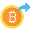 Send bitcoin Icon