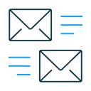 Send Receive Mail Icon