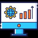 Seo Search Engine Icon