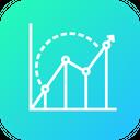 Seo Benchmark Graph Icon