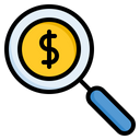 Search Magnifier Seo Icon