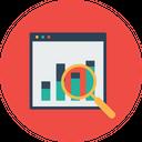 Seo Web Monitoring Icon