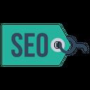 Seo Web Tag Icon
