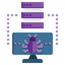 Server Bug Server Hosting Server Icon