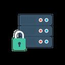 Lock Server Private Icon