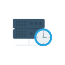 Time Sharing Server Icon