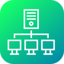 Server Web Hosting Icon