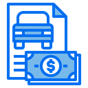 Invoice Payment Car Service Icon