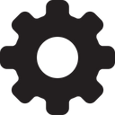 Gear Configuration Cog Icon