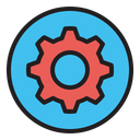 Settings Gear Preferences Icon