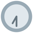 Seven Thirty Clock Icon