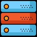 Server Database Storage Icon
