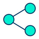 Share Network Transfer Data Icon