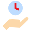 Share Time Date Icon