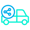 Share Delivery Shipping Icon