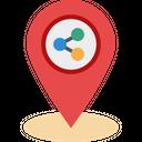Share Location Location Park Icon