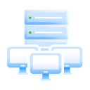 Shared Hosting Icon