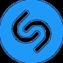 Shazam Technology Logo Social Media Logo Icon