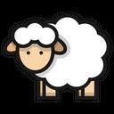 Sheep Livestock Cattle Icon