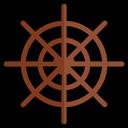 Sheering Wheel Icon
