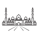 Mosque Sheikh Zayed Grand Muslim Icon
