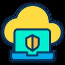 Shield Laptop Icon