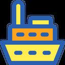 Ship Travel Sea Icon
