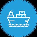 Ship Goods Vehicle Icon
