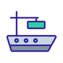 Delivery Loading Container Icon