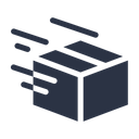 Shipped Delivering Package Icon