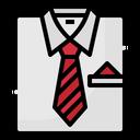 Work Tie Fashion Icon