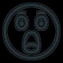 Shock Shocked Smiley Icon