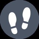 Shoeprints Icon