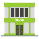 Shop Marketplace Outlet Icon
