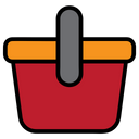Shoppingbasket Basket Food Icon