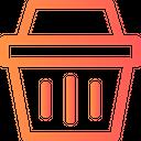 Shopping Basket Sale Icon