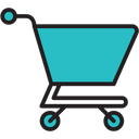 Shopping Cart Mobile Phone Icon