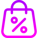Shopping Bag Sale Online Shop Icon